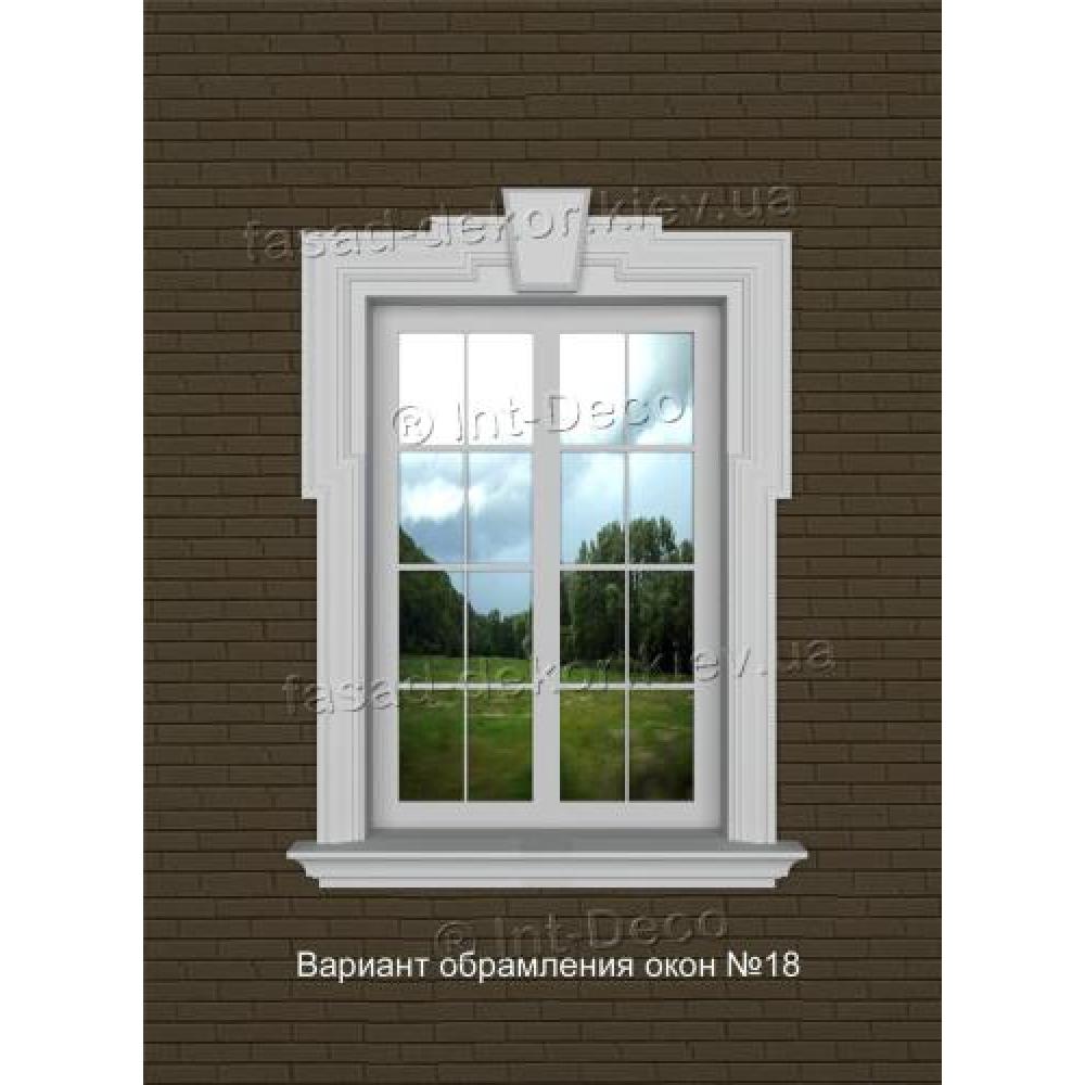 Фасад дома варианты отделки окон на фасаде № 18